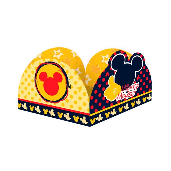 Forminha para Doces Mickey - Pct C/50 Unds