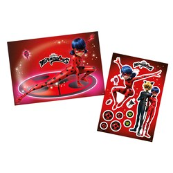 Kit Decorativo Miraculous Ladybug - Pct C/1 Und