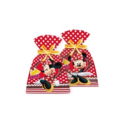 Sacolinha Surpresa Red Minnie - Pct C/08 Unds