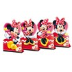 Enfeite Decorativo de Mesa Red Minnie - Pct C/04 Unds
